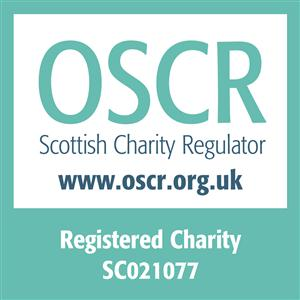 OSCR logo for Enable Glasgow