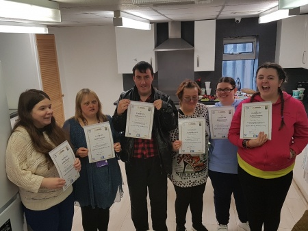 healthy living certificate award